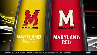 Highlights: 2019 Maryland Spring Football Game   B1G Football