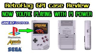 "RetroFlag GPi ""GameBoy"" Case review Pros & Cons + emulation tests for Playstation & much more"