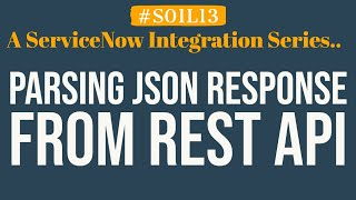 How to parse JSON response in REST API | 4MV4D | S01L13