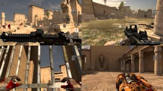 Serious Sam 3 PC 4 Player Split Screen Gameplay  #1 | 1080p