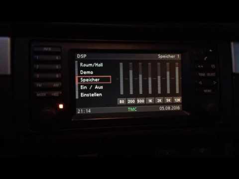 BMW E39 Individual DSP Sound System Demonstation