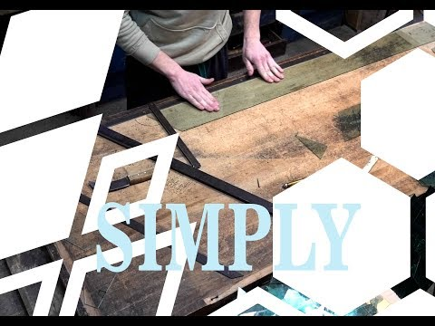 How to Cut a Hexagon or Rhombus out of Glass ( DIY)