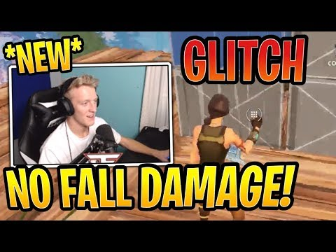 Tfue Learns a *NEW* No Fall Damage GLITCH! - Fortnite Best and Funny Moments