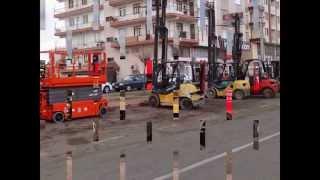 Antalya Forklift sepetli vinc makaslı platform 0533 922 49 88