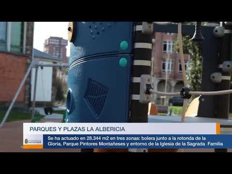 Mejora en parques, plazas y jardines de La Albericia