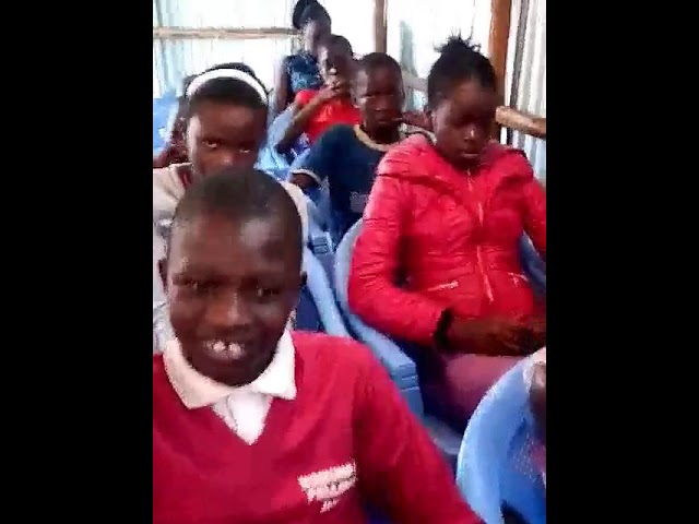 Kibera Slum Children Learning Jesus GMFC-WFF Kenya 11-6-2018