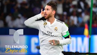 Sergio Ramos anota y manda un mensaje a Cristiano Ronaldo | Mundial de Clubes | Telemundo Deportes