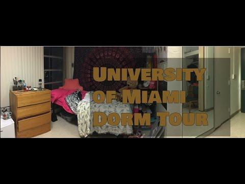 University of Miami Dorm Tour