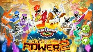 power ranger cartoons für Kinder - Spiel - Power Rangers Dino Charge Entfesseln Sie die Macht der 2