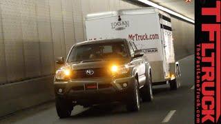 2015 Toyota Tacoma takes on the Grueling Ike Gauntlet Towing Test Review