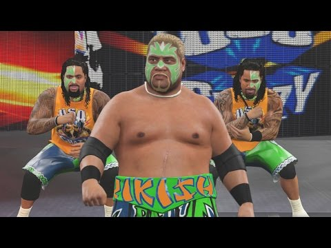 WWE 2K16 Mods - Rikishi Joins The Usos