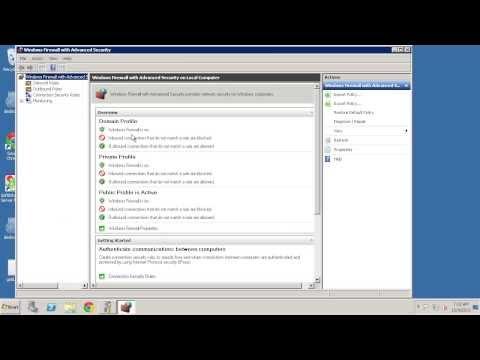 Windows Firewall Block IP Address / Blacklist
