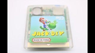 Jack DIY GB/GBC Flash Cart Review