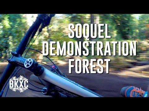 Mountain biking Soquel Demonstration Forest