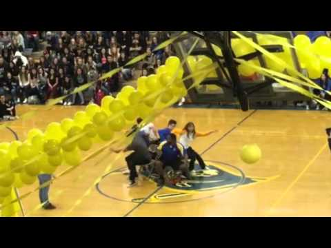 Cyprus high school spirit Bowl Assembly