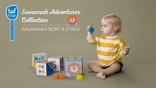 Video: Taf Toys Savannah Sort&Stack Educational Toy