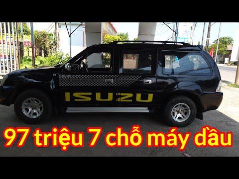 97 triệu ô tô 7 chỗ máy dầu isuzu 2007 call 0796822220