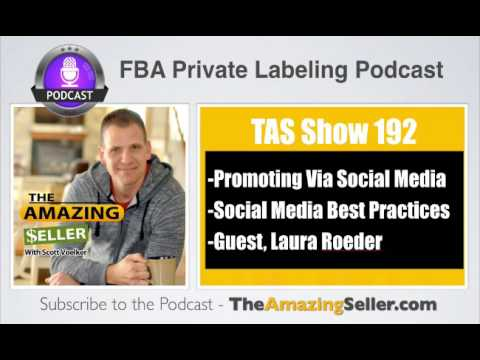 TAS 192 : HOW TO USE SOCIAL MEDIA TO SELL PRODUCTS WITH LAURA ROEDER