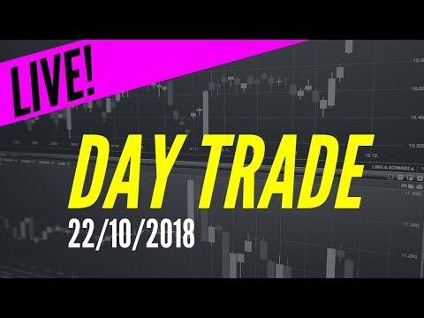 Day Trade | AO VIVO | 22/10