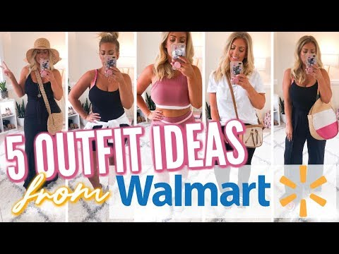 5 OUTFIT IDEAS from WALMART | Affordable Fashion thumbnail