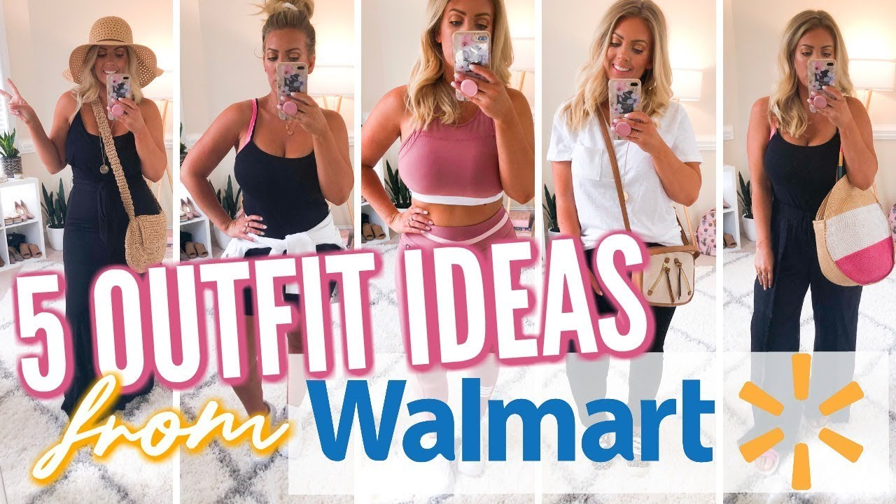5 OUTFIT IDEAS from WALMART | Affordable Fashion 2