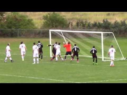 Luke Sterling Scores on a Flip Throw