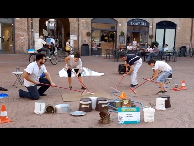 Street show Percussioni - Buskers Festival
