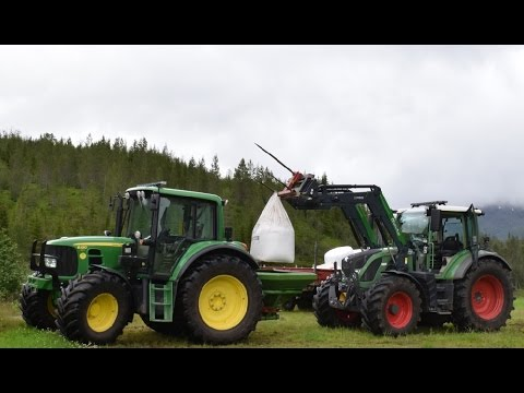 Fertilizer for Second Cut in Northern Norway.