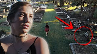 Exploring a 147 year old cemetery