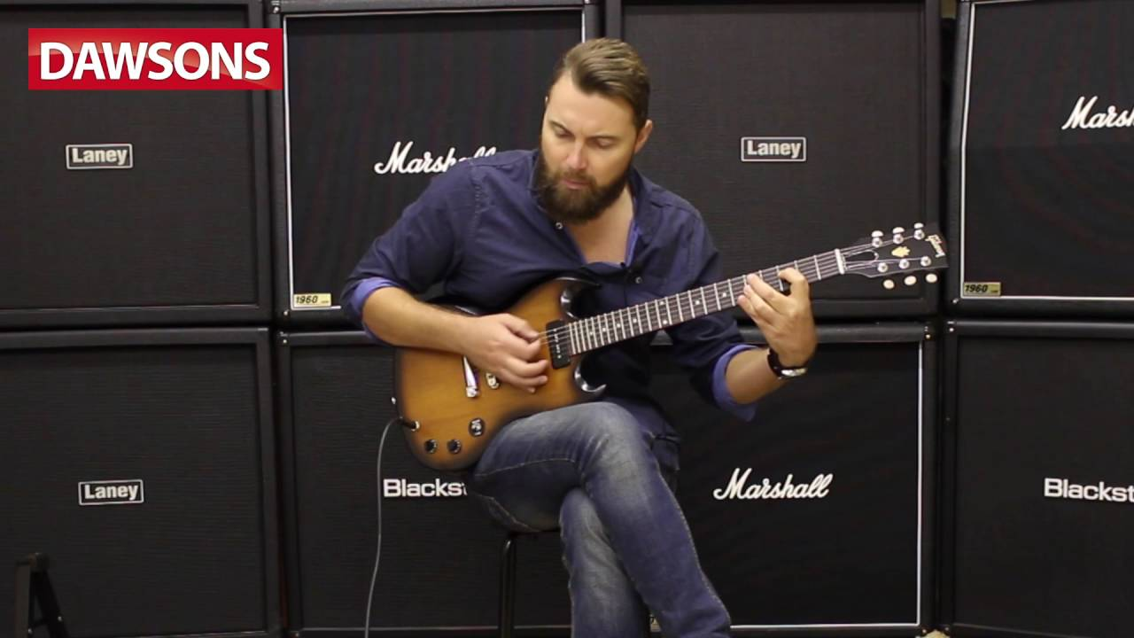 Gibson 2016 Sg Special Single Coil Ltd Run Review Youtube