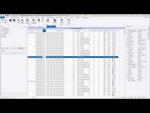 Predefined connection resistance database for Eurocode and AISC