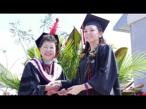 UH West O'ahu Spring 2016 Commencement Highlights