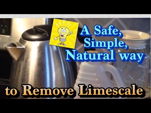How to Clean and Remove Limescale in a Kettle?