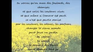 Le pouvoir des fleurs-LES ENFOIRES (paroles)