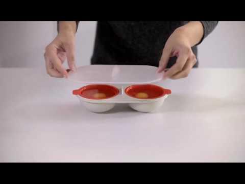 Яйцо пашот в микроволновке