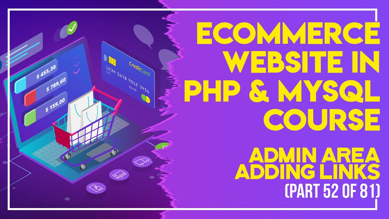 E-Commerce website in PHP & MySQL in Urdu/Hindi part 52 Admin Panel creating the Layout
