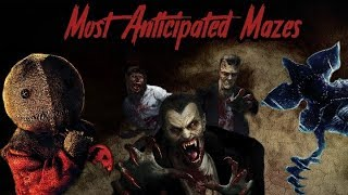 My Most Anticipated Mazes for HHN 2018 | Road to HHN 2018