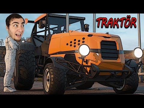 Modifiye Traktör ile Hız Yaptım - FORZA HORİZON 4
