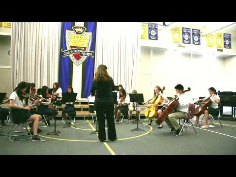 Strings Ensemble at Clairbourn School