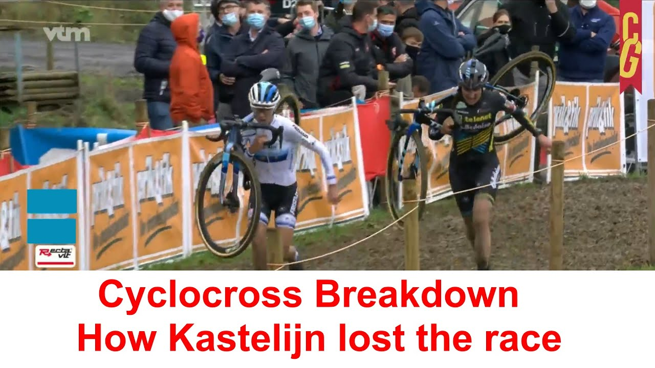 Cyclocross Breakdown: How Kastelijn lost the race (Ethias Cross Kruibeke)