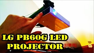 LG PB60G LED Projector 500 Lumens - Review