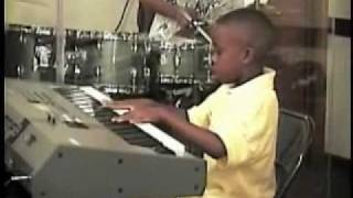 BJ Brandon playing Let Go let God by Dewayne Woods 8yrs old