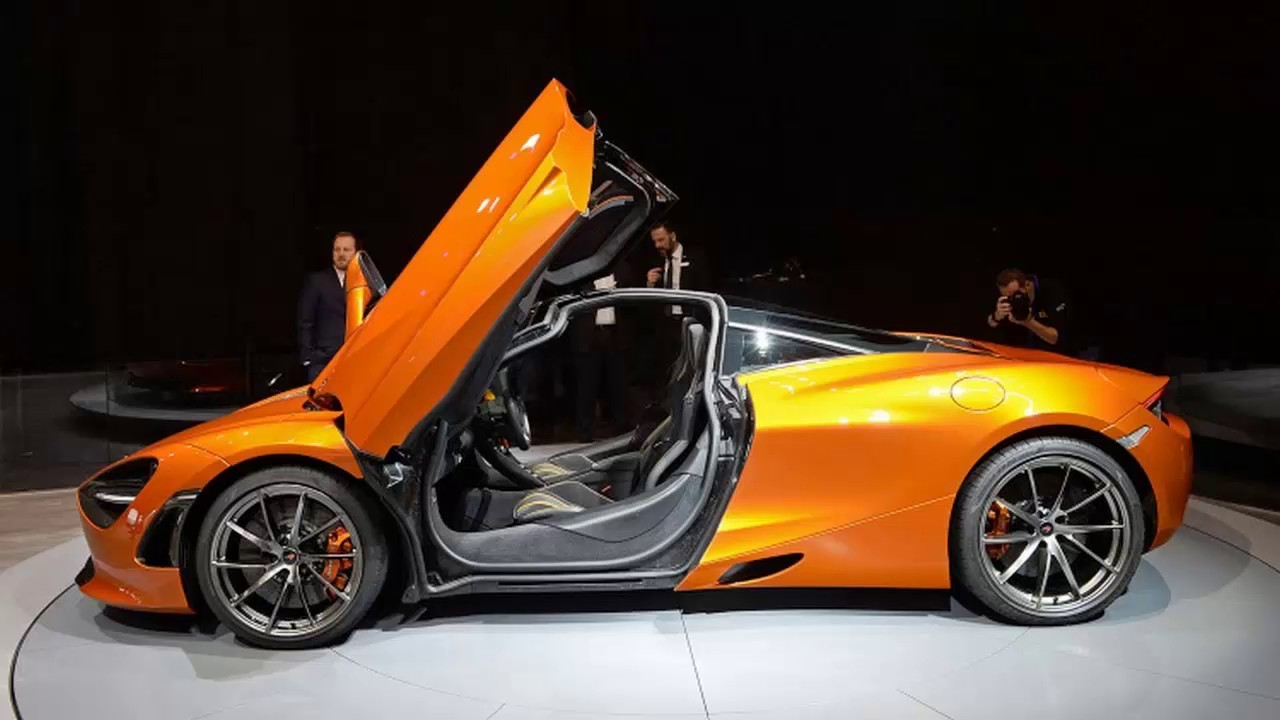 McLaren 720S reaches series production, first car built - YouTube