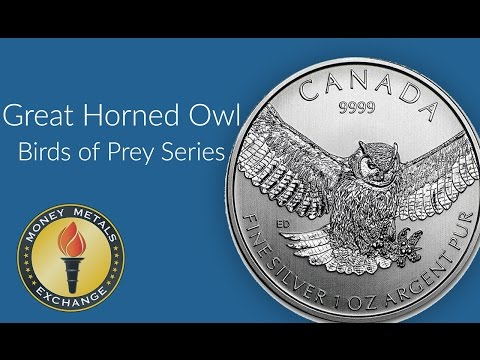 Silver Owl Coin | Royal Canadian Mint | Money Metals Exchange