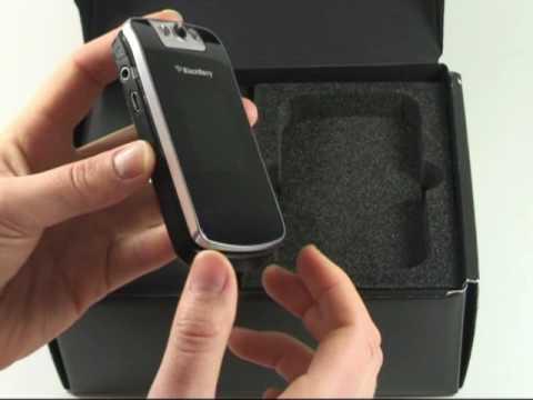 BlackBerry Pearl Flip 8220 Test Erster Eindruck