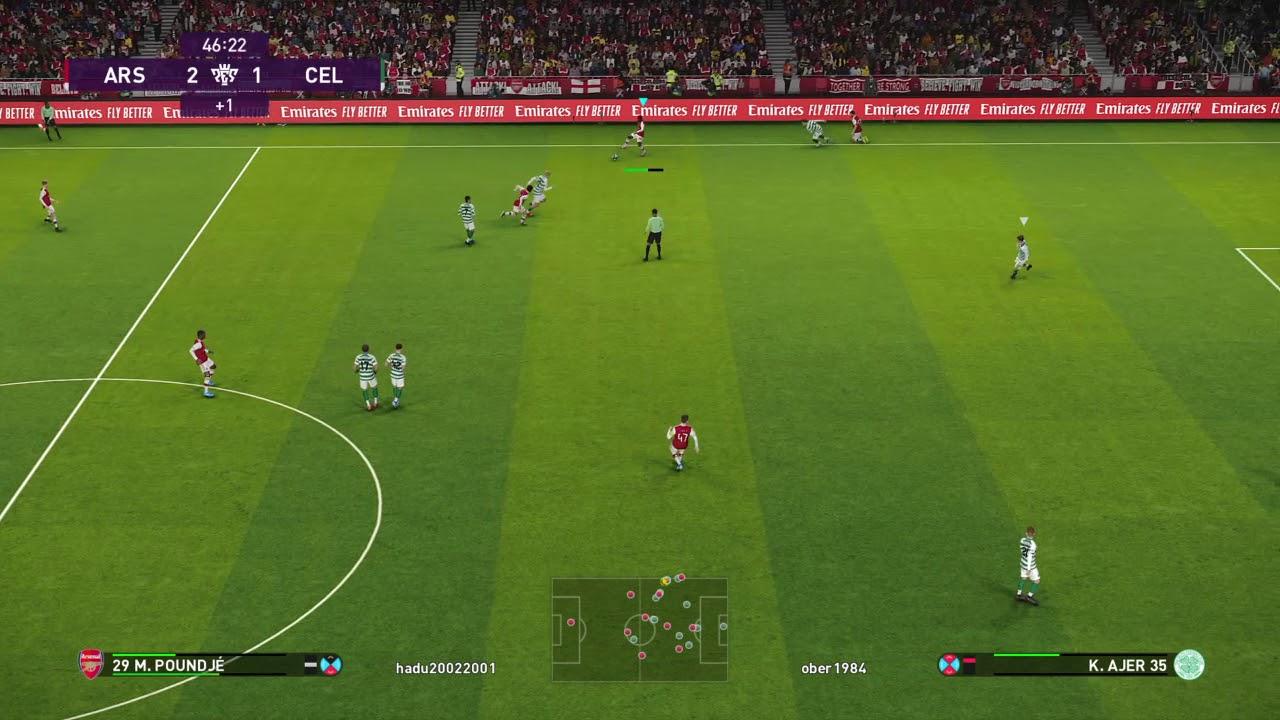 Liga Arsenal vs Celtic - YouTube