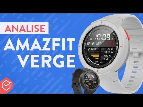 AMAZFIT VERGE é o SMARTWATCH IMPORTADO que mais me agradou! | Análise / Review Completo!