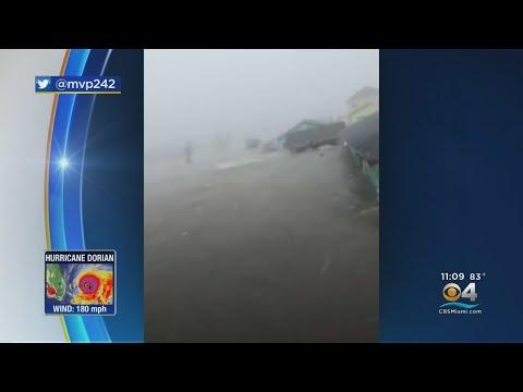 Videos On Social Media Show Hurricane Dorian's Destruction In The Bahamas