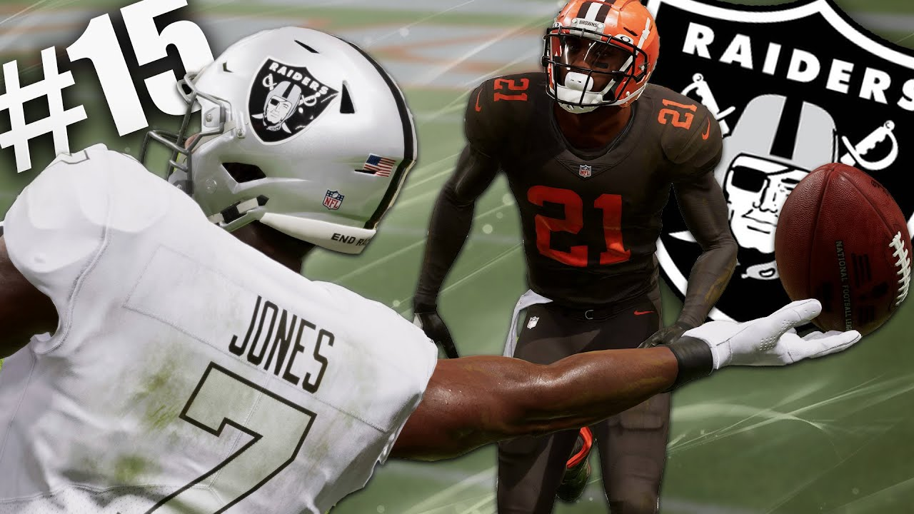 Download Zay Jones Comes Up With Insane Clutch Fingertip Catch! Madden 22 Las Vegas Raiders Franchise Ep 15!