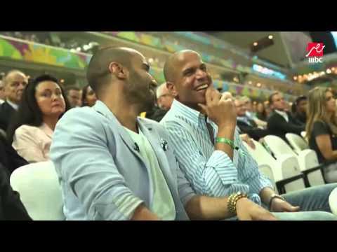 حسن شحاته يظهر في افتتاح كأس العالم مع فهمى وجمعة فى البرازيل
